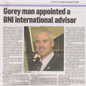 gorey-guardian-article-bni-international-advisor